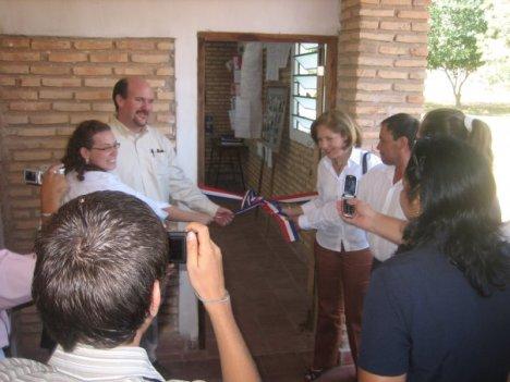 Ribbon Pulling Ceremony
