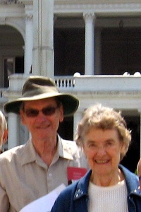 Mary Miller and Charlie Stansifer